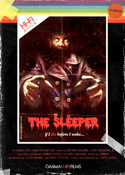 The Sleeper (2012) isn't a perfect film, much like the early 80s slashers which it pays homage.  Still, there's a lot of heart in the movie and I always appreciate that.  They didn't manage to pull off the retro vibe quite so well as House of the Devil (2009) but I chalk a lot of that up to budget constraints.  All in all, I was pretty well satisfied with The Sleeper and would recommend the film without hesitation.