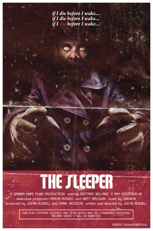 Poster art for The Sleeper (2012).