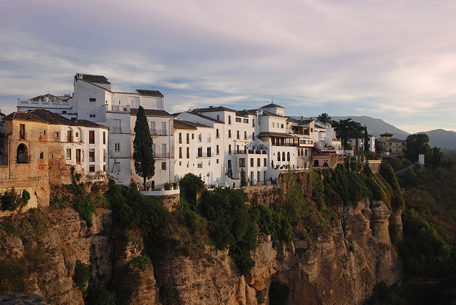 | ♕ |  Cliff-top Ronda - Andalucia, Spain  | by © Roy McGrail