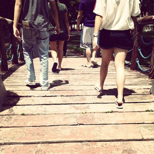Last stroll. ☀ (Taken with Instagram)
