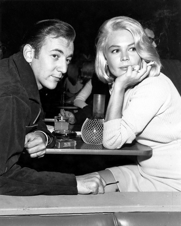 theniftyfifties:  Bobby Darin and Sandra Dee