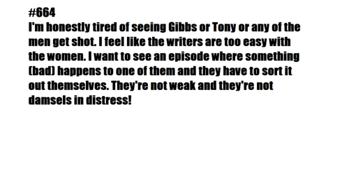 "iamprobiehearmeroar:  lifelesswordscarryon:  ""I feel like the writers are too easy with the women."" So did I just imagine Kate, Jenny, and Lee getting killed or…?  hai, yeah so give me two examples of when Tony got shot, plz. thanks. and no. Jenny, Lee and Kate all getting killed in gruesome ways was not imagined. And I think whoever created this needs a reminder of that…  also they got killed…no really important man has gotten killed and ziva went through 3 months of torture when tony and mcgee didn't get anything to bad"