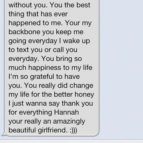 This! ❤ Getting #messages like this every night really shows me I found myself a #keeper. #boyfriend #bestfriend #relationship #love #couple #text #iphone #imessage #cute #sweet #iloveyou #future #amazing  (Taken with Instagram)