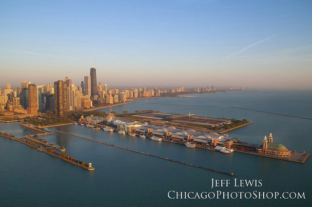 Chicago Skyline by ChicagoPhotoShop on Flickr.Chicago.