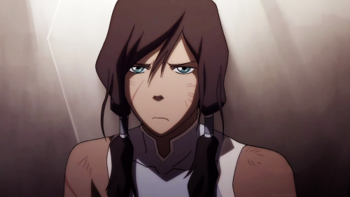 Korra looks like her mother, Senna. :D