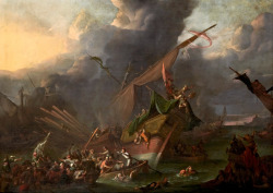 necspenecmetu:  Johannes Lingelbach, The Battle of Lepanto, c. 1670