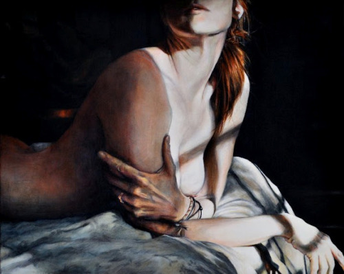 Nude 4 by Victoria Selbach | Acrylic on Canvas