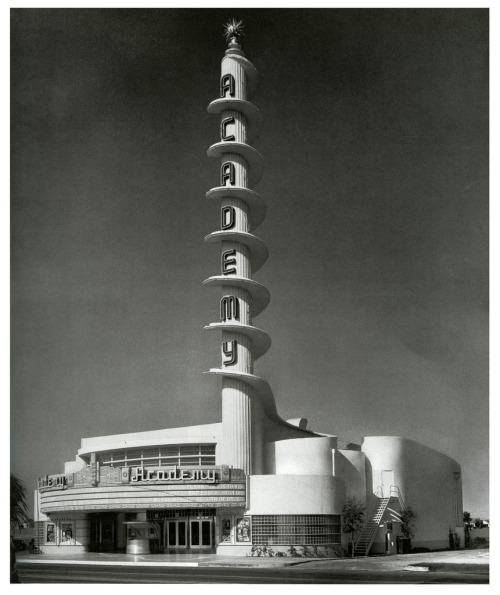 Academy Theatre, Inglewood, California 1939 architect S Charles Lee (by paul.malon)