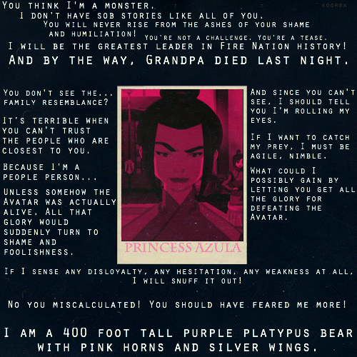 Favorite Azula Quotes