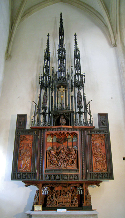 Tilman Riemenschneider ~ Holy Blood Altar in Rothernberg (closed)