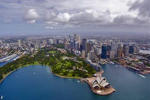 The beautiful city of Sydney