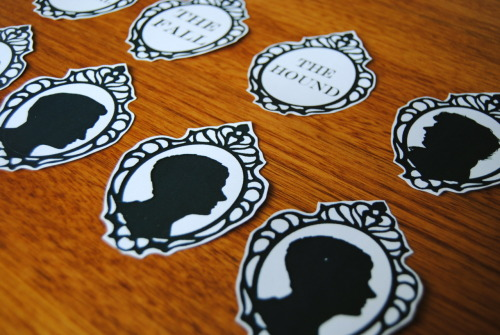 obsidianink:  I have a new set of Sherlock Stickers on sale. And remember, there is still 20% off with the code 'Wonder' :)
