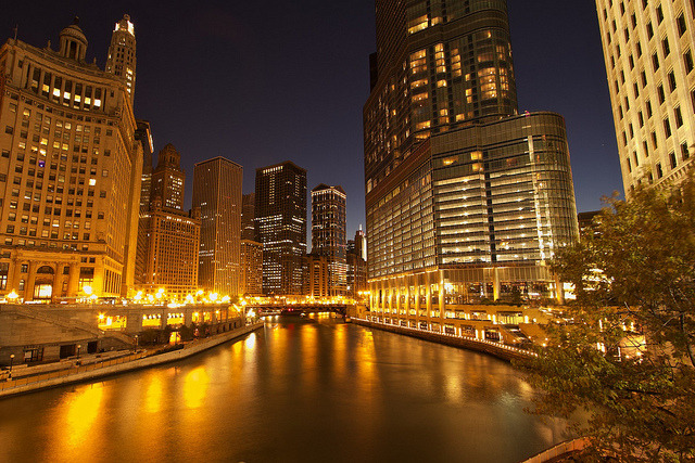 Chicago River by edwademd on Flickr. I want my future boyfriend to purpose me in here.