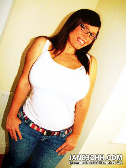 White top and jeans (oldies I was between 18 and 20 years old)