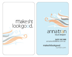make sht look goodBusiness card/visual identity designAdobe Illustrator CS5