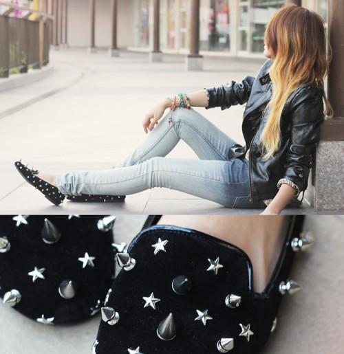 lookbookdotnu:  OMBRE & SPIKES (by Cheyser Pedregosa)
