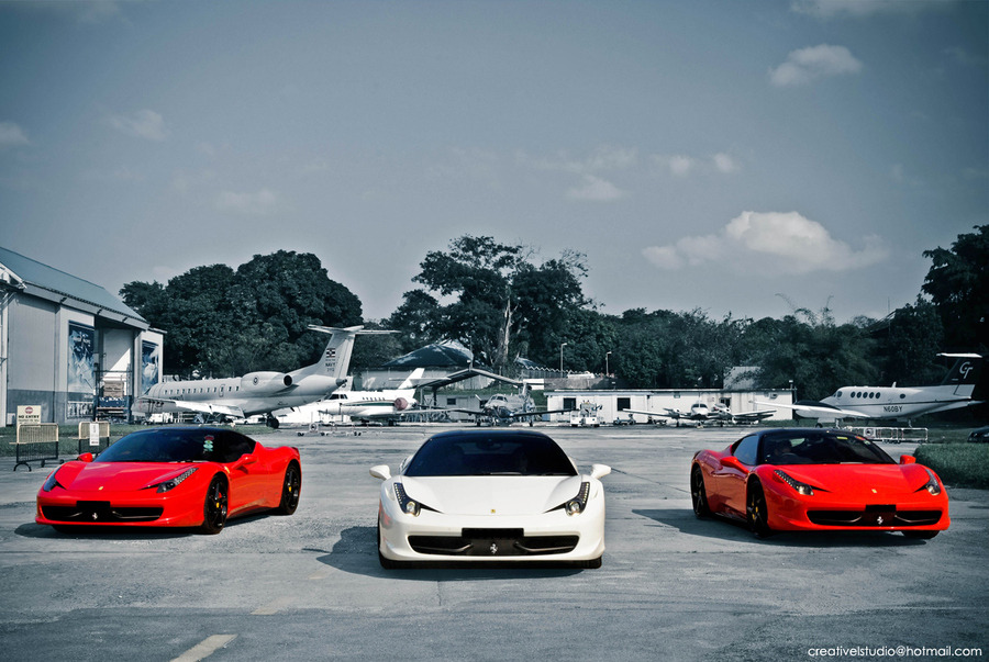 "fitnessmafia:  On a mission  (via 500px / Photo ""Ferrari 458 Italia"" by Creative Studio)"