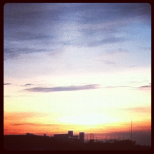 Sunset #philippines #nosun (Taken with Instagram)