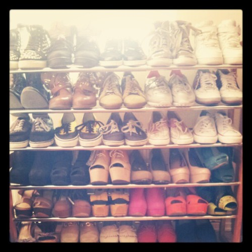 #shoes #favorite #ilove . (Taken with Instagram)