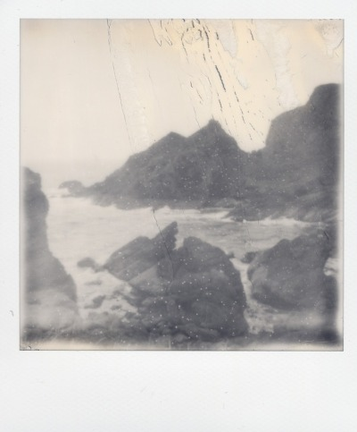 Sublime!  thecameralucida:  St Abb's Head, Scotland  Polaroid series : 'Seascapes'  Impossible Project PX 600 / Silver Shade