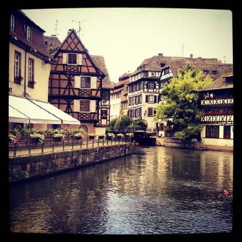 Somewhere in Strasbourg… #France #Strasbourg (Taken with Instagram)