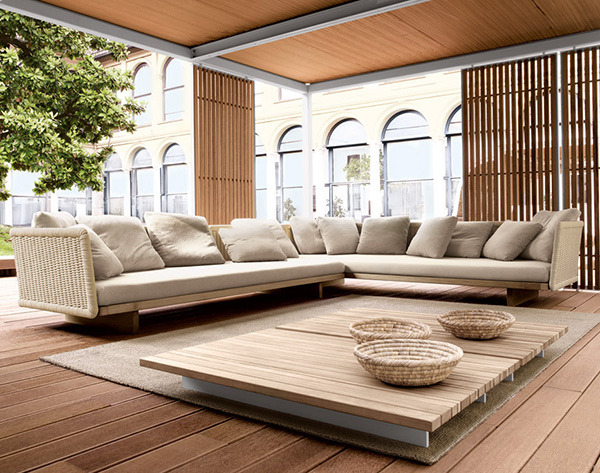 New inspiration: Unique Outdoor Interior Design by Paola Lenti by New Inspiration Home Design on Flickr.cool place for hanging out with friends and gossiping :p