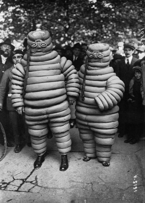 retrogasm:  Michelin Man and Wife…