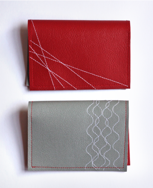 classymissmolassy:  Simple Vinyl Wallet Tutorial.