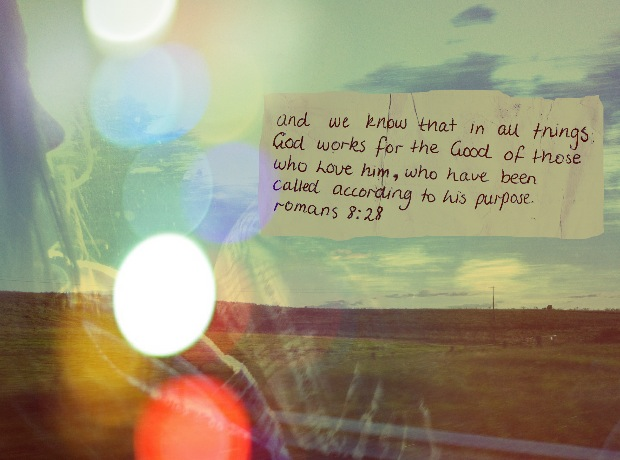 pursuingjesus:  Romans 8:28