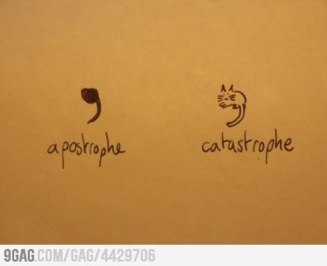 zephyrfluff:  Punctuation from 9GAG by 9GAG Reader (9g.re)