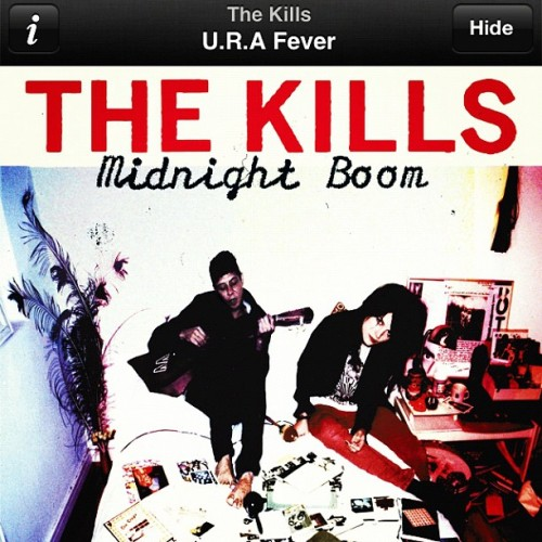 #nowplaying U.R.A. Fever - The Kills #np #music #musicporn iponesia #tweegram #statigram #picofday #photooftheday #igersdaily #igers #iggirls #webstagram #ig #ignation #instadaily #instagood #instago #instahub #instagramhub #instamood #photowall #all_shots #instago #iphone4s #Instaporn #igaddict (Taken with Instagram)