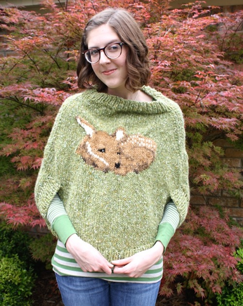 one sheepish girl: What I Wore - The Finished Fawn-cho!!