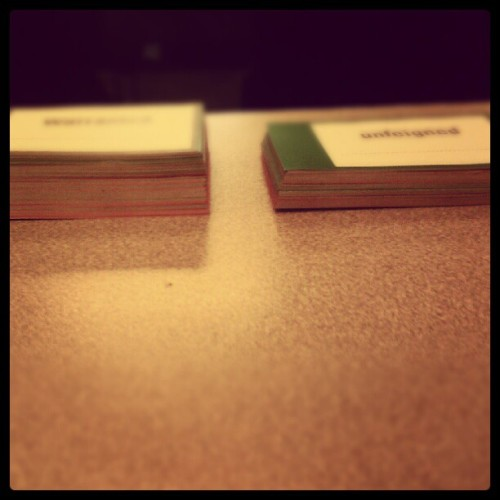 On the left, words I know on the GRE. On the right, words I need to know. Vocab challenge accepted (Taken with Instagram at Princeton Review)