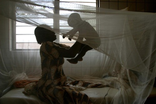 unicef:  In Togo, a woman plays with her baby in their home in Adidome Village, outside Lomé, the capital. They are beneath a mosquito net provided by UNICEF. © UNICEF/NYHQ2004-1418/Giacomo Pirozzi http://www.unicef.org