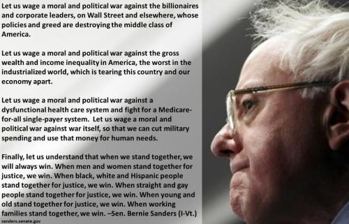 truth-has-a-liberal-bias:  Senator Bernie Sanders