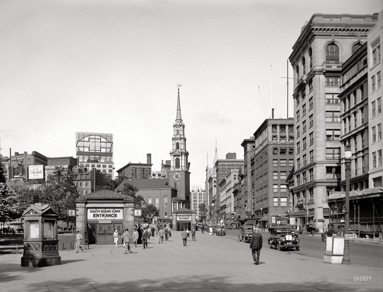 Tremont Street, Boston c. 1923 (via)