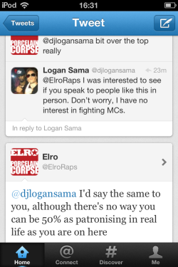 Elro VS Logan Sama