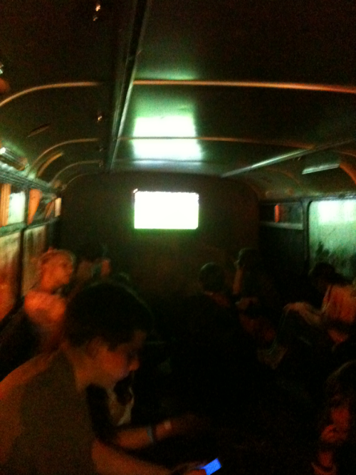 Youth Bus at Youth Alpha weekend away. It was absolutely banging!
