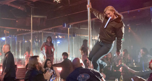 "Katee Sackhoff stripping? From Longmire (A&E) ""The Dark Road"" Episode 2"