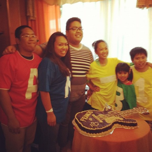 Blanco-Sereneo cousins. (Taken with Instagram)