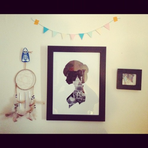 Love this little section off wall :) #charmaineolivia (Taken with Instagram)