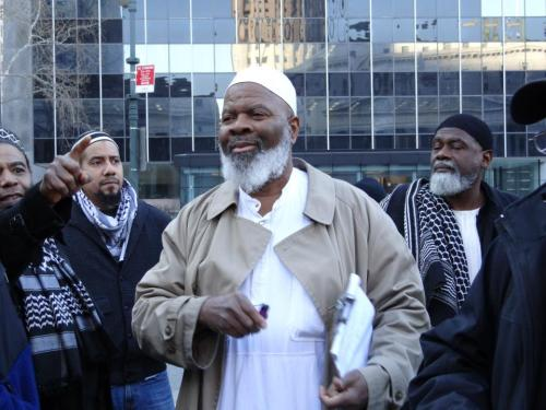 clearmysoul:  There goes my Imam siraj wahhaj