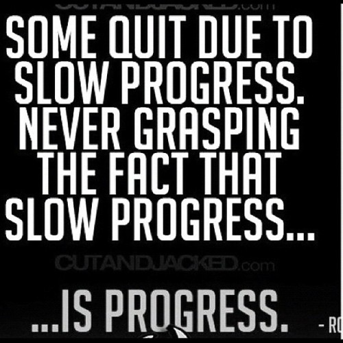 crossfitkarla:  stopneglectingyourhealth:  never quit!  This is why they call me turtle…. Slow and steady!