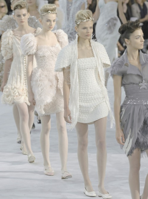 the-front-row:  Chanel couture spring/summer 2088