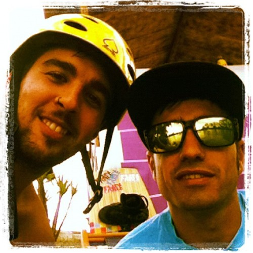 My Wake teacher ;) (tomada con Instagram en Fun Cable)