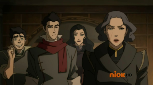 korrasensationdomination:  I am posting this cuz of Bolin's face. Look at it LOOK AT IT *faints*   OH Noooooooo baby