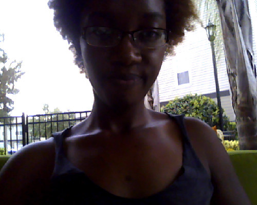 at the pool by my apt. —Stealing wi-fi