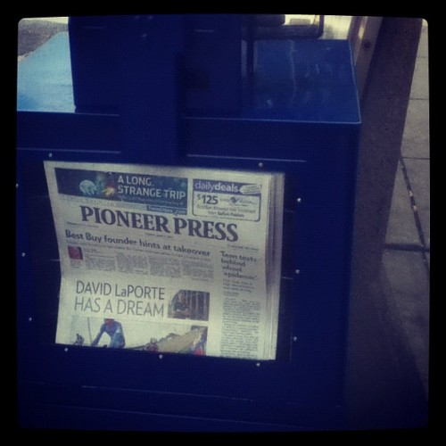 #mn #newspapers (Taken with Instagram)