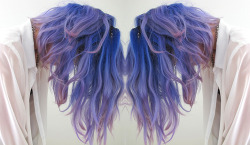 i want purple hair