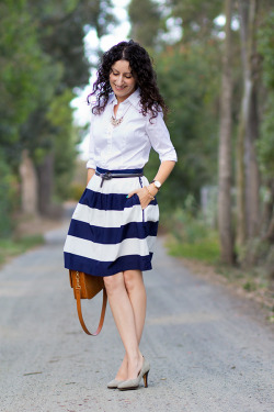 (via Wide Stripes and Tips for Risky Shopping)